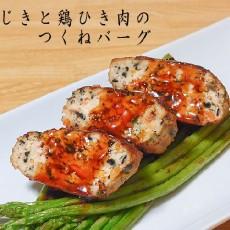 塩ひじきと鶏ひき肉のつくねバーグ