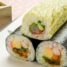すし飯の作り方と巻き寿司の巻き方