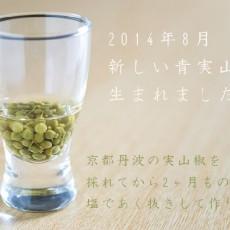 京都産山椒の実で作った青実山椒の佃煮